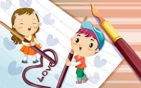 Cute Love Couple Wallpaper #7014599