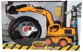 <b>Fun Toy Экскаватор</b> с радиоуправлением 44427 - Акушерство.Ru