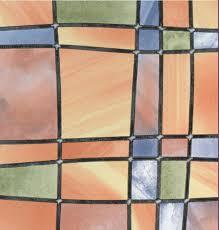 Bunte Fensterfolie Barcelona Glasdekorfolie Real