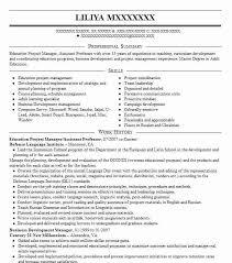 Sample Professor Resume - Shalomhouse.us