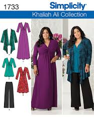 Plus Size Dress Patterns Magnificent Plus Size Dress Patterns Women's Style