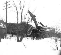 Railway Wrecks in the Ottawa Area - 1950 Ashton