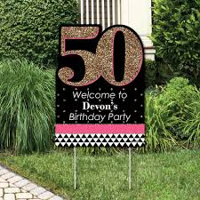 50th birthday party decorations. More Views. Chic 50th Birthday Party Decorations X
