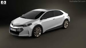 Toyota Corolla Furia 2013 by 3D model store Humster3D.com - YouTube