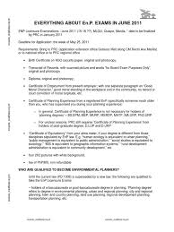Environmental Planners Board Exam Test Assessment