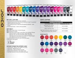 Joico Vero K Pak Color Intensity Fact Sheet Hair Joico