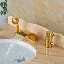 Waterfall Bathtub Online Get Cheap Gold Waterfall Bathtub Faucet Aliexpresscom