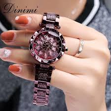 Dimini <b>Fashion</b> Luxury <b>Women Watches</b> Diamond <b>Lady Watch</b> ...