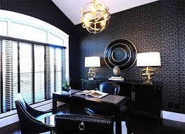 wallpaper designs for office. Elegant Home Office Wallpaper Designs For Design Lover