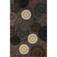 cream and brown area rug blue rugs