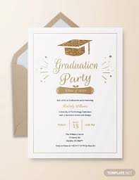24 Graduation Party Invitation Designs Psd Ai Word