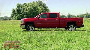 All Chevy chevy 1500 leveling kit : 2014 Chevrolet Silverado and GMC Sierra 1500 4WD 2