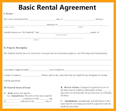 Free Rental Form Free Rental Lease Agreement Template Agreements Download Printable