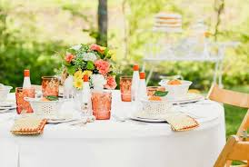 easy ideas for a garden party outside