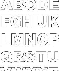 Alphabet Coloring Pages Alphabet Coloring Pages Make Photo Gallery
