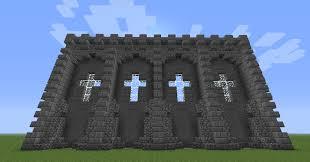 minecraft wall designs. Modren Minecraft Minecraft Castle Wall Design Seeds U2014  For Designs