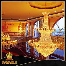 hotel extravagant chandelier decorative custom made crystal lighting yh 9908