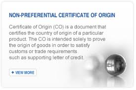 Letter Of Origin Apply For Certificate Of Origin