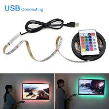 Ambilight <b>5V USB</b> LED Strip Light 0.5 <b>5m</b> RGB Flexible Ribbon ...