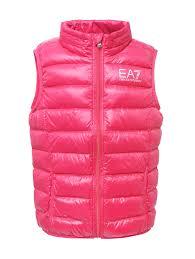 <b>EA7</b> Emporio Armani розовый <b>жилет</b> на пуховом подкладе ...