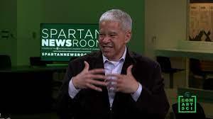 MSU CAS Dean Prabu David interviews NY Times Marc Lacey - YouTube