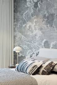 Wallpaper For Bedroom 15 Soothing Bedrooms That Take Inspiration From The Clouds