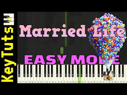 The song went on to win a grammy at the 52nd grammy awards for best instrumental composition. Learn To Play Married Life From Up Easy Mode Piano Tutorial Synthesia Youtube