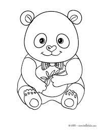 Coloring Pages Panda Cute Panda Coloring Page Coloring Pages Panda
