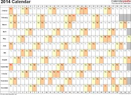 Free Excell Calendar 2014 Calendar Excel 13 Free Printable Templates Xlsx