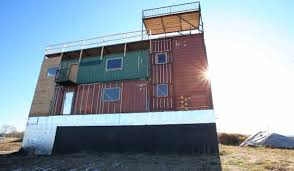 Sea Can Homes In Shipping Container Cabin Alaska Youtube
