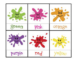 Toddler Color Learning Printables Learning Colors Printable Learning Colors For Toddlers Printables
