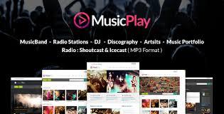 Download - amp; Theme Free Graphic-dl Responsive Dj Musicplay Wordpress Music