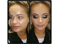 makeup artist covering nottingham london and the midlands weddings proms lessons