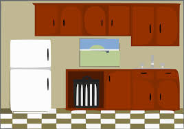 kitchen table clipart. kitchen clipart table