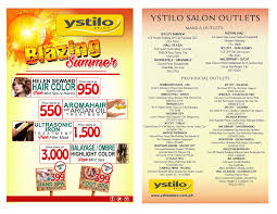 the best way to celebrate this is to have that perfect hair to pliment this season i suggest that you should try the new offering of ystilo salon