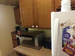 oster digital convection oven in my kitchen