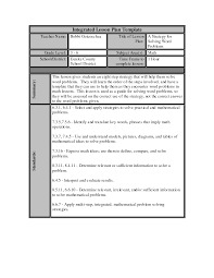 lesson plan template word target math daily lesson plan template lesson plan template word r3vfsokq
