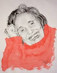 Galería de imágenes de Julia Jiménez García - Madre,_50x40_cm.grafito_y_acuarela,_11_junio_2008