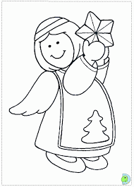 christmas angels coloring page  angel coloring page  christmas angel colouring page