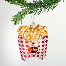 Pommes Frites Christbaumschmuck