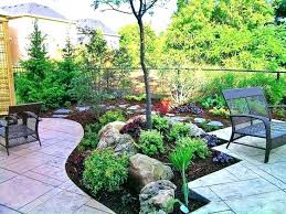 Backyard Landscape Designs Adorable Showy Landscape Design Near Me Landscape Designers On Landscape