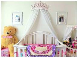 Princess Crown Wall Canopy Metallic Silver Bed Crown Canopy Or Wall ...