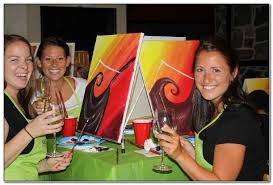 drink wine and paint las vegas