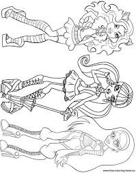 dd5ba39ae3d56f56009c07c8e6194bbc coloring pages to print printable coloring pages 104 best images about monster high coloring pages on pinterest on monster high worksheets