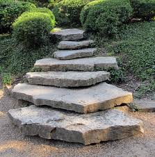 how installing natural stone steps increases the value of your property