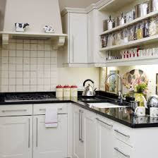 Small Picture Small kitchen design ideas Open shelving Wall cupboards and