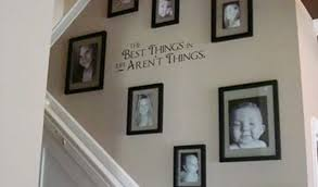 stairway gallery wall ideas by size handphone