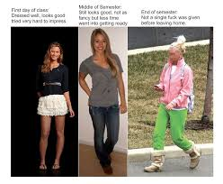 Funny College Quotes Delectable How Women Dress Throughout Their Semester At College Xpost From R