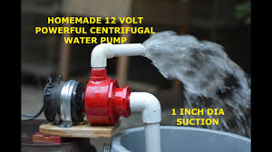 Powerful Centrifugal Water Pump - How to make Powerful <b>12 Volt</b> ...