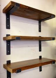 wall shelves design strong shelving brackets heavy duty household for 2